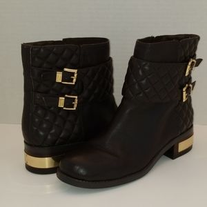 Vince Camuto Wintela Leather Motorcycle Boots